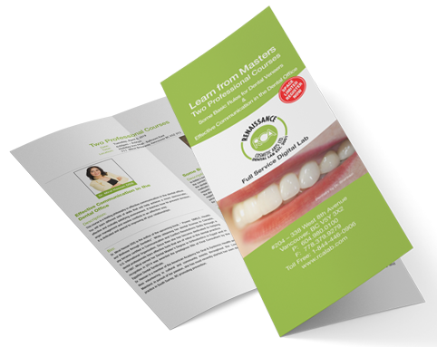 Renaissance Cosmetic Arts Dental Lab Event - Learn From The Masters 2019 Brochure